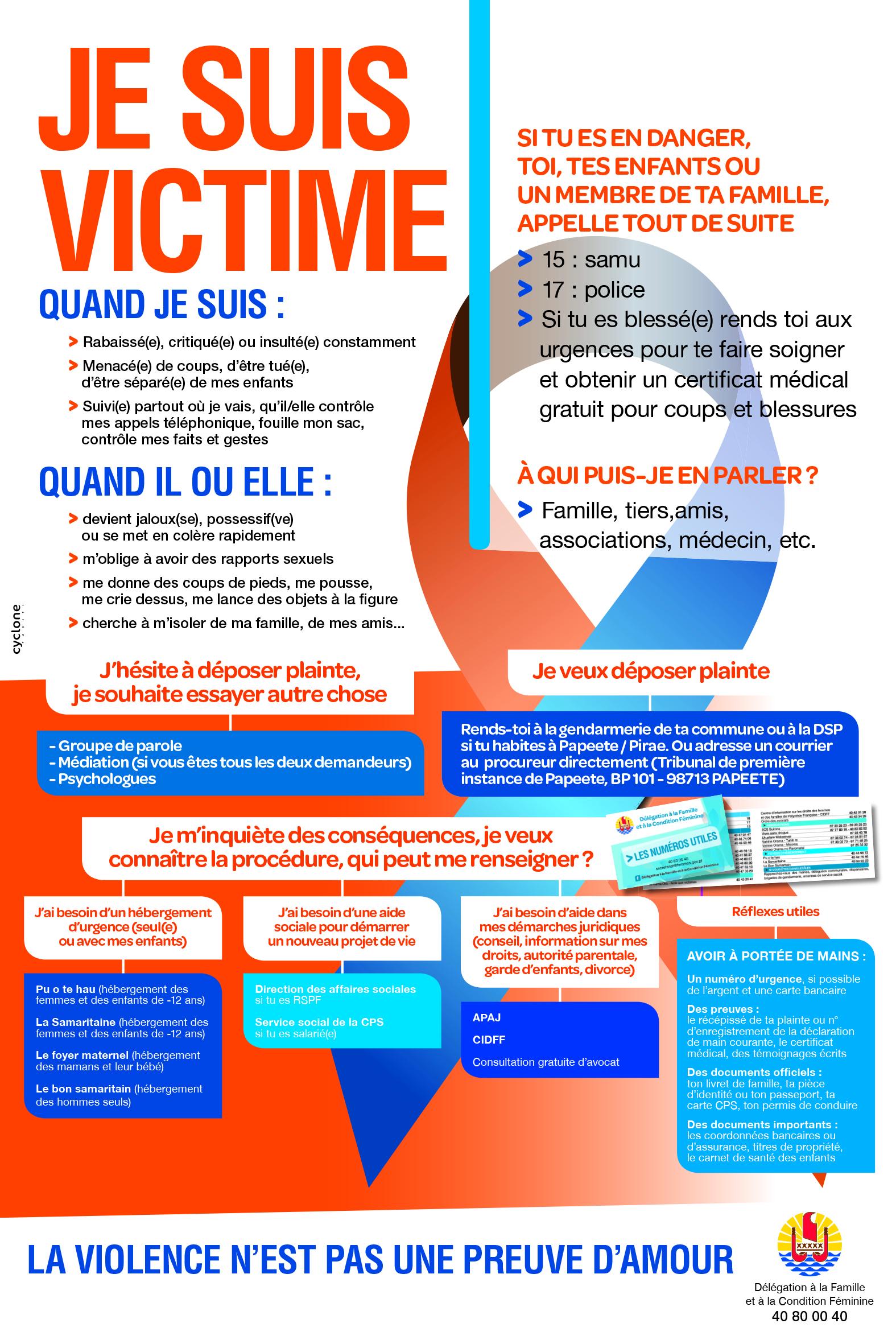 Victime de violence (français)